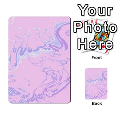 Unique Marbled 2 Baby Pink Multi-purpose Cards (Rectangle)