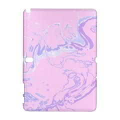 Unique Marbled 2 Baby Pink Samsung Galaxy Note 10.1 (P600) Hardshell Case