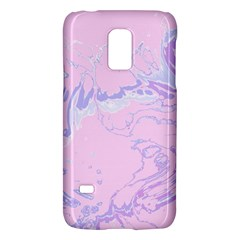 Unique Marbled 2 Baby Pink Galaxy S5 Mini