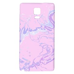 Unique Marbled 2 Baby Pink Galaxy Note 4 Back Case