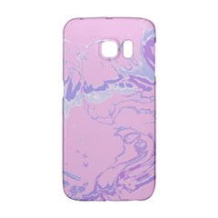 Unique Marbled 2 Baby Pink Galaxy S6 Edge