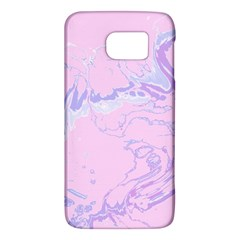 Unique Marbled 2 Baby Pink Galaxy S6