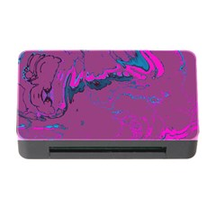 Unique Marbled 2 Hot Pink Memory Card Reader With Cf
