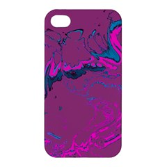 Unique Marbled 2 Hot Pink Apple iPhone 4/4S Hardshell Case