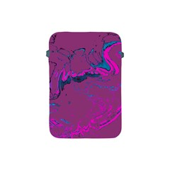 Unique Marbled 2 Hot Pink Apple iPad Mini Protective Soft Cases