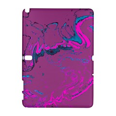 Unique Marbled 2 Hot Pink Samsung Galaxy Note 10.1 (P600) Hardshell Case