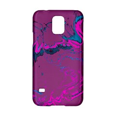 Unique Marbled 2 Hot Pink Samsung Galaxy S5 Hardshell Case