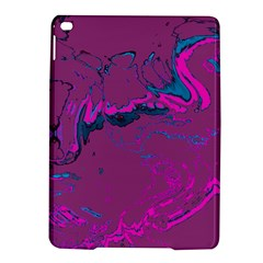 Unique Marbled 2 Hot Pink iPad Air 2 Hardshell Cases