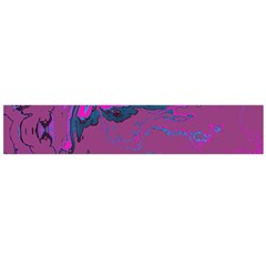 Unique Marbled 2 Hot Pink Flano Scarf (Large)