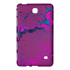 Unique Marbled 2 Hot Pink Samsung Galaxy Tab 4 (7 ) Hardshell Case