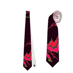 Unique Marbled 2 Tropic Neckties (One Side)