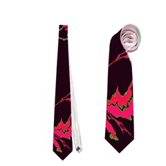 Unique Marbled 2 Tropic Neckties (Two Side)