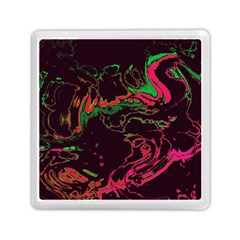 Unique Marbled 2 Tropic Memory Card Reader (square)