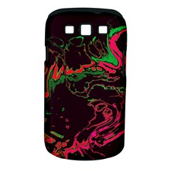 Unique Marbled 2 Tropic Samsung Galaxy S III Classic Hardshell Case (PC+Silicone)