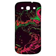 Unique Marbled 2 Tropic Samsung Galaxy S3 S III Classic Hardshell Back Case