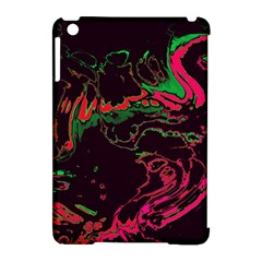 Unique Marbled 2 Tropic Apple iPad Mini Hardshell Case (Compatible with Smart Cover)