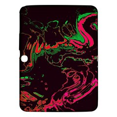 Unique Marbled 2 Tropic Samsung Galaxy Tab 3 (10.1 ) P5200 Hardshell Case