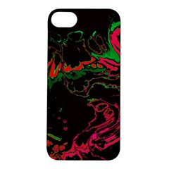 Unique Marbled 2 Tropic Apple iPhone 5S Hardshell Case