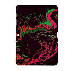 Unique Marbled 2 Tropic Samsung Galaxy Tab 2 (10.1 ) P5100 Hardshell Case