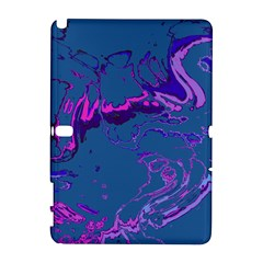 Unique Marbled 2 Blue Samsung Galaxy Note 10 1 (p600) Hardshell Case