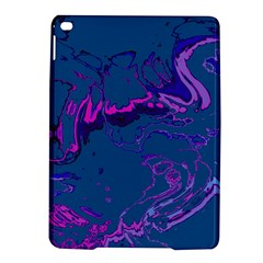 Unique Marbled 2 Blue Ipad Air 2 Hardshell Cases