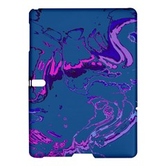 Unique Marbled 2 Blue Samsung Galaxy Tab S (10 5 ) Hardshell Case