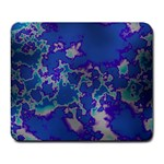 Unique Marbled Blue Large Mousepads Front