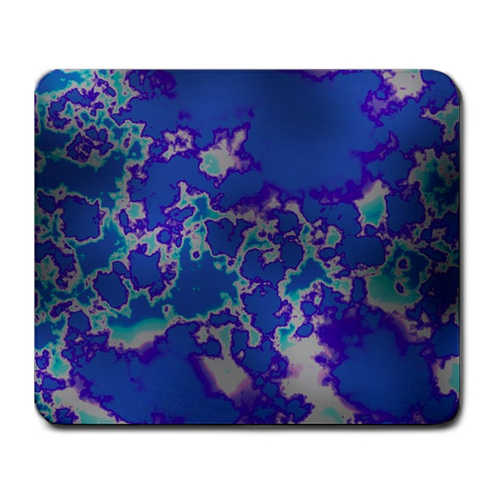 Unique Marbled Blue Large Mousepads
