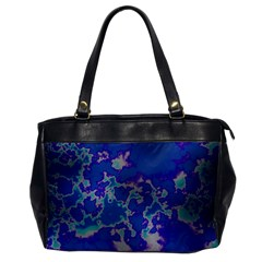 Unique Marbled Blue Office Handbags
