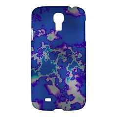 Unique Marbled Blue Samsung Galaxy S4 I9500/I9505 Hardshell Case