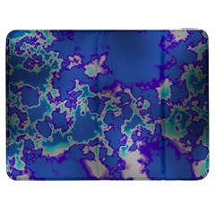 Unique Marbled Blue Samsung Galaxy Tab 7  P1000 Flip Case
