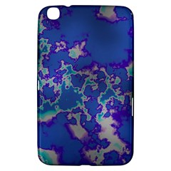 Unique Marbled Blue Samsung Galaxy Tab 3 (8 ) T3100 Hardshell Case