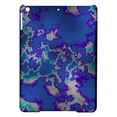 Unique Marbled Blue Ipad Air Hardshell Cases