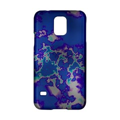 Unique Marbled Blue Samsung Galaxy S5 Hardshell Case