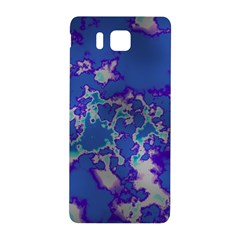 Unique Marbled Blue Samsung Galaxy Alpha Hardshell Back Case