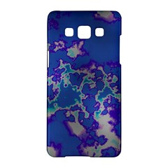 Unique Marbled Blue Samsung Galaxy A5 Hardshell Case