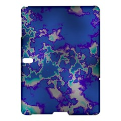 Unique Marbled Blue Samsung Galaxy Tab S (10 5 ) Hardshell Case
