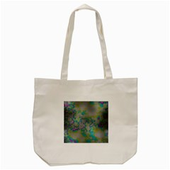 Unique Marbled Candy Tote Bag (cream)