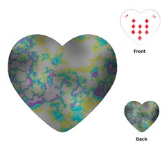 Unique Marbled Candy Playing Cards (Heart)