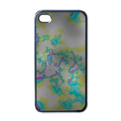 Unique Marbled Candy Apple iPhone 4 Case (Black)