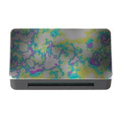 Unique Marbled Candy Memory Card Reader with CF
