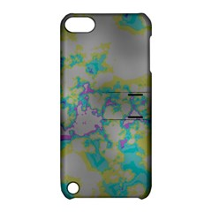 Unique Marbled Candy Apple iPod Touch 5 Hardshell Case with Stand