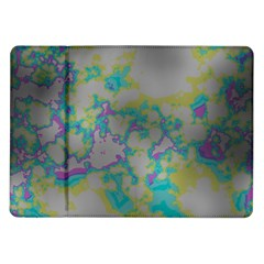 Unique Marbled Candy Samsung Galaxy Tab 10 1  P7500 Flip Case