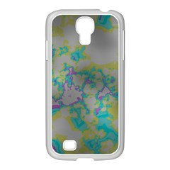 Unique Marbled Candy Samsung GALAXY S4 I9500/ I9505 Case (White)