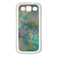Unique Marbled Candy Samsung Galaxy S3 Back Case (White)
