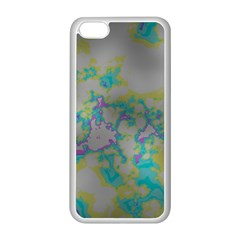Unique Marbled Candy Apple Iphone 5c Seamless Case (white)