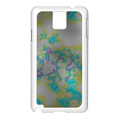 Unique Marbled Candy Samsung Galaxy Note 3 N9005 Case (White)
