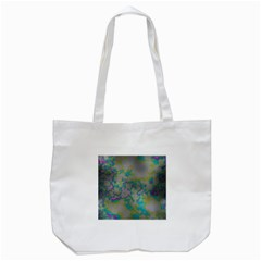 Unique Marbled Candy Tote Bag (White)