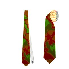 Unique Marbled Hot Neckties (One Side)