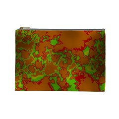 Unique Marbled Hot Cosmetic Bag (Large)